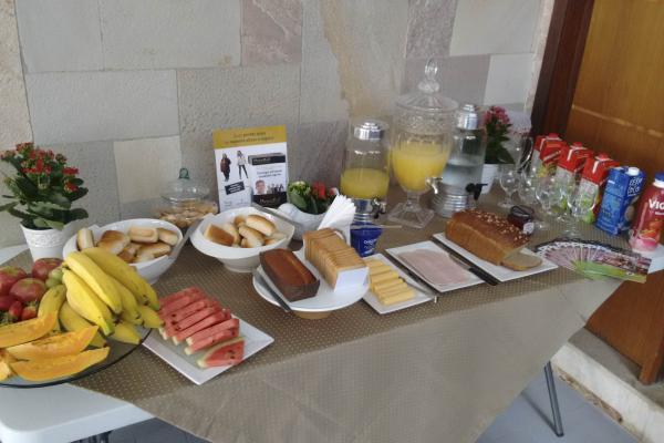 Café da manhã de boas-vindas