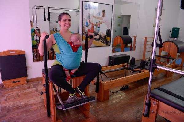 Pilates para mamães e gestantes